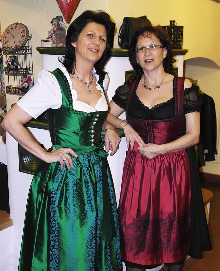 Frau Karin Schwarz und Frau Andrea Reichenfelser