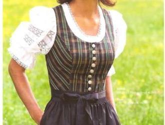 Seidendirndl Niederösterreich